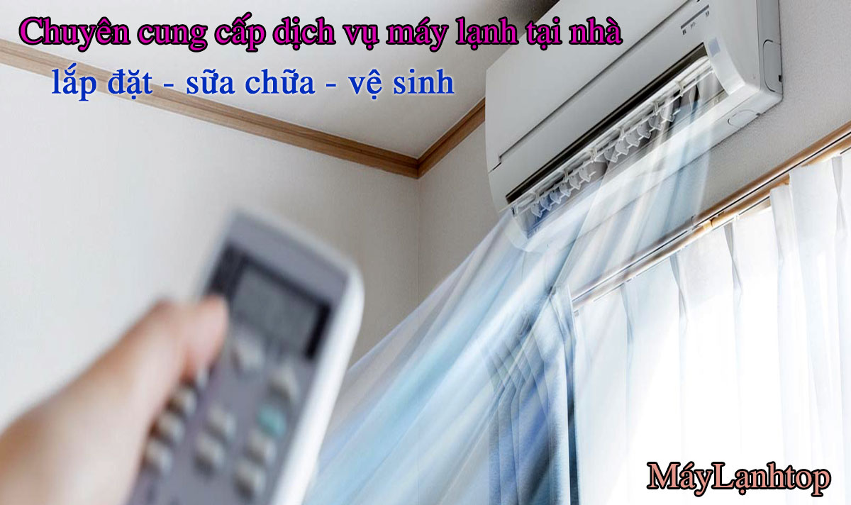 Dịch Vụ Lắp Đặt Máy Lạnh Tân Phú Gía Rẻ Nhất