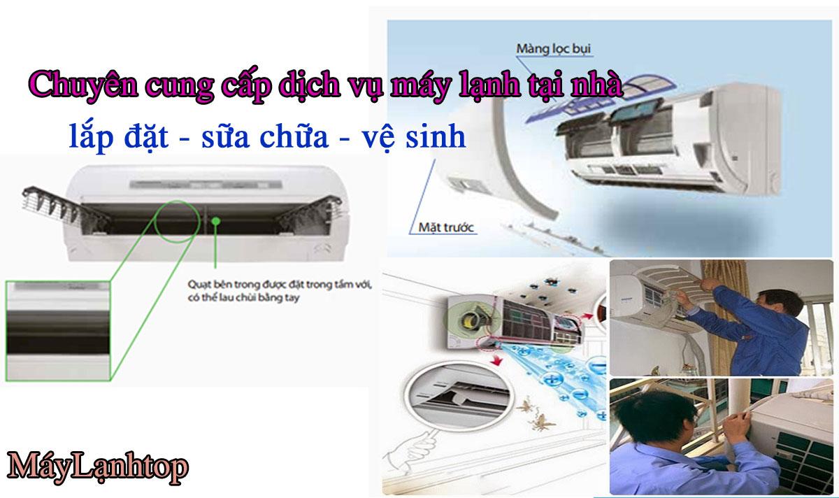 Dịch Vụ Sửa Máy Lạnh Bình Thạnh Gía Rẻ Nhất Tận Nơi
