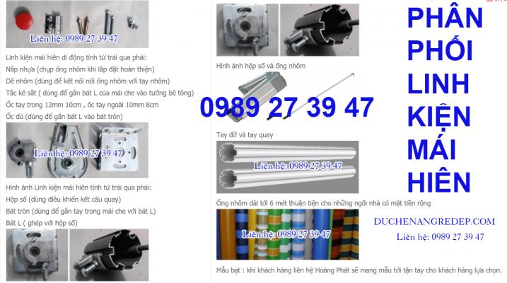 Địa chỉ nào bán linh phụ kiện mái hiên di động giá rẻ uy tín TPHCM, Biên Hòa, Bình Dương,Hà Nội, Đà Nẵng, Cần Thơ