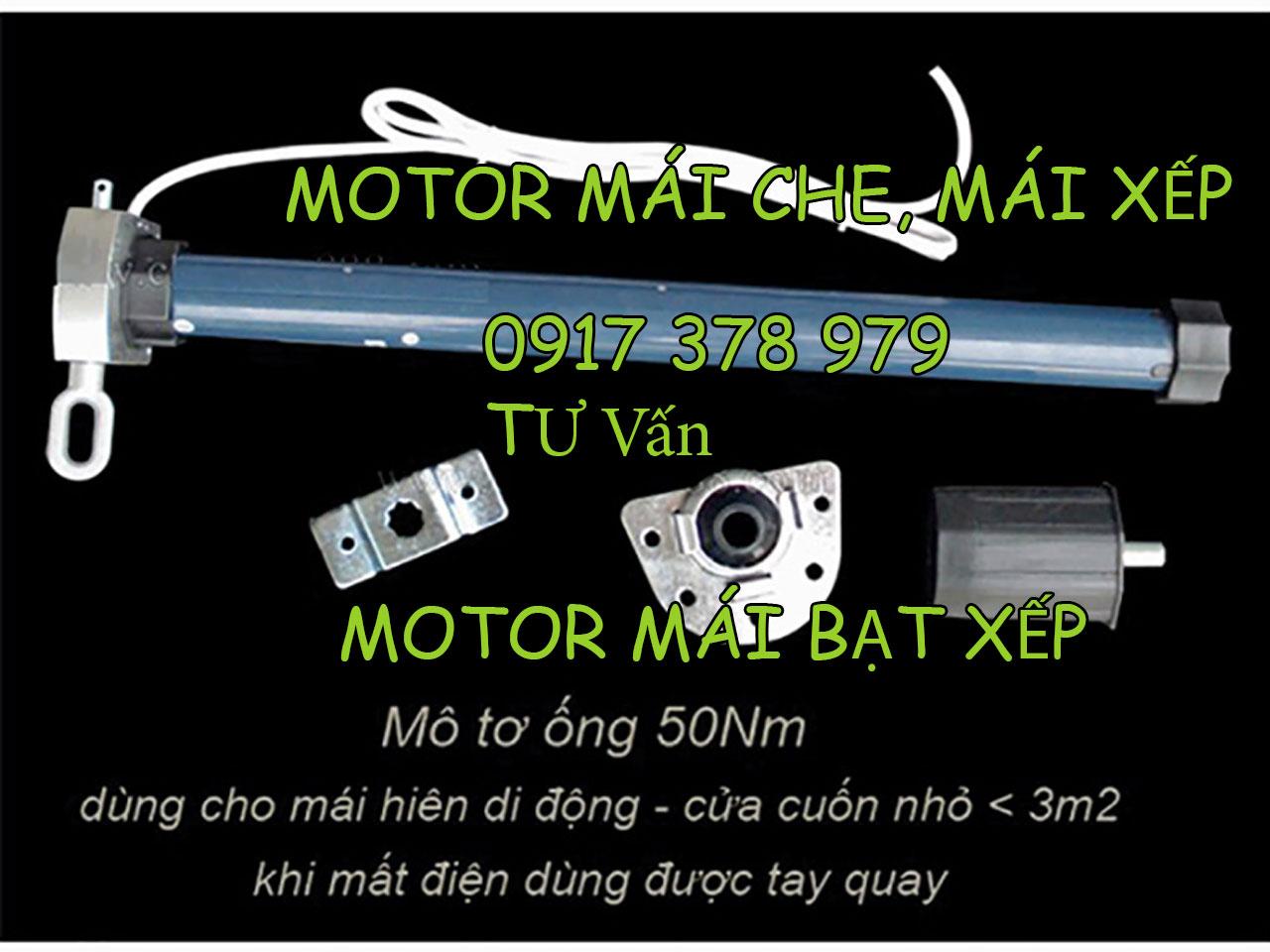 Cung cấp motor mái bạt cuốn mái bạt kéo xếp di động giá rẻ